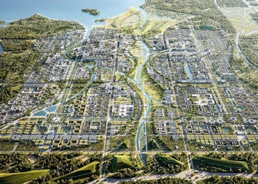 Smart & Sustainable Planning for Xiongan New Area